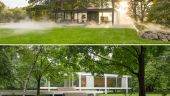 Exhibition: Side by Side: Philip Johnson's Glass House and Mies van der Rohe's Farnsworth House