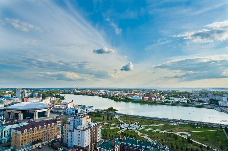10 Shortlisted to Re-Envision Kazan's Kaban Lake Embankments, Project site. Image Courtesy of competition organizers