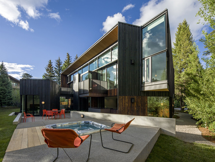 Blackbird House Will Bruder Architects Archdaily