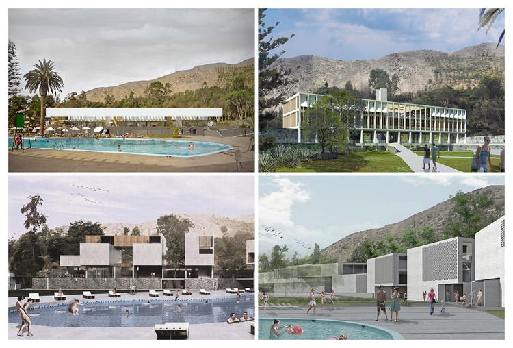 Conoce todos los proyectos premiados en el concurso del nuevo edificio Rinconada Country Club / Perú