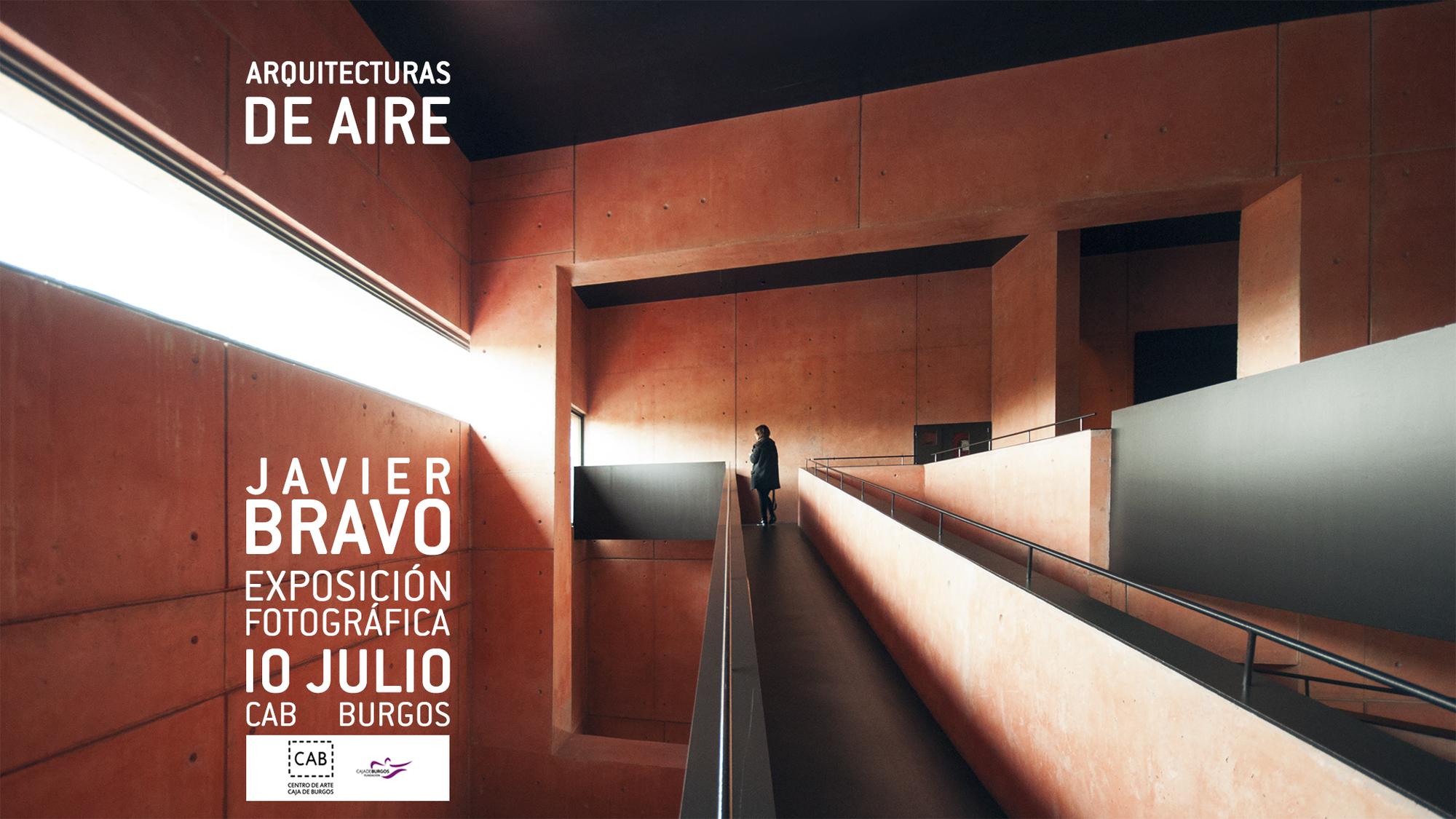 'Arquitecturas de aire', exposición de Javier Bravo en CAB / Burgos
