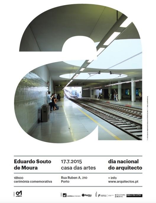 Ordem dos Arquitectos promove homenagem a Eduardo Souto de Moura, Cortesia de Ordem dos Arquitectos de Portugal