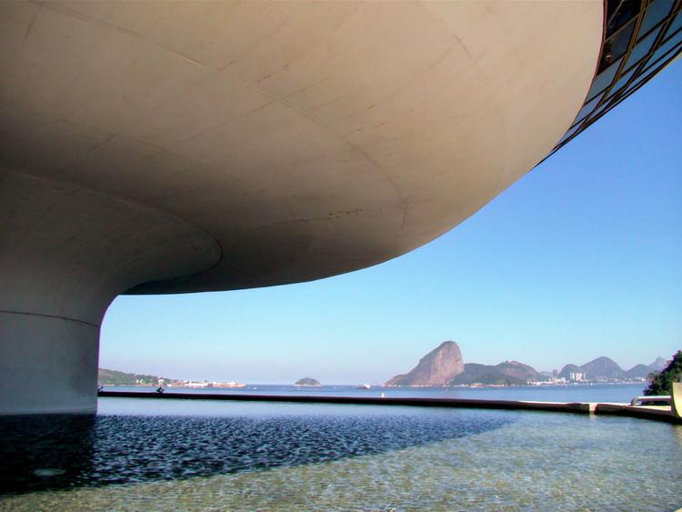 Museu de Arte Contemporânea de Tóquio promove exposição sobre Oscar Niemeyer, Museu de Arte Contemporânea de Niterói. © Fabiano Caetano