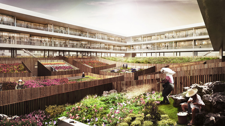 Kamjz Proposes Sustainable Ruichang Flower Market For