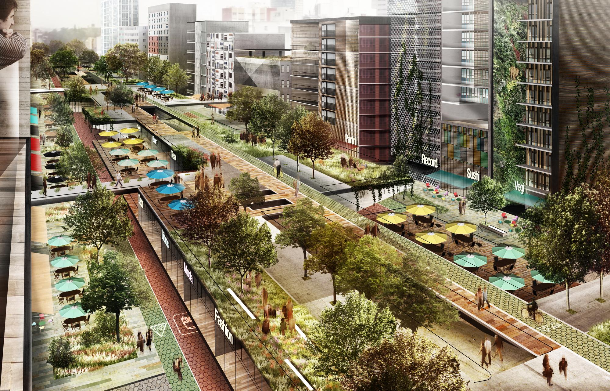 M xico parque elevado chapultepec proyecto catalizador for New york alloggio economico