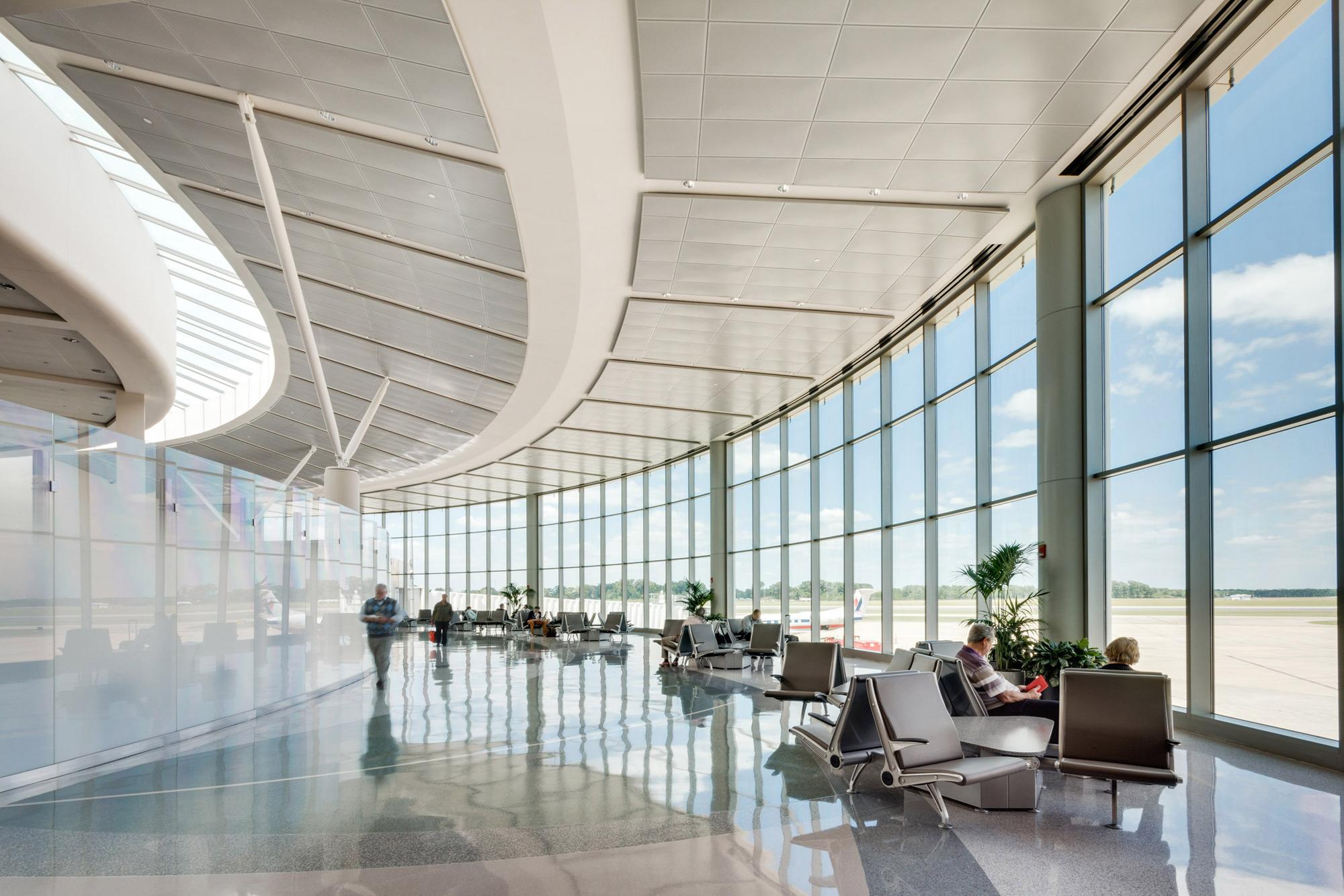 Baton Rouge Metropolitan Airport Extension Whlc Architecture Archdaily