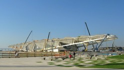 Construction Well Underway on Santiago Calatrava's Museum of Tomorrow in Rio de Janeiro
