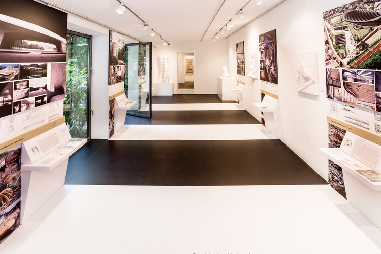 Exhibition: NORIHIKO DAN Symbiotic Thoughts of Architecture, Norihiko Dan exhibition at Architekturgalerie München, Credits: Saskia Wehler