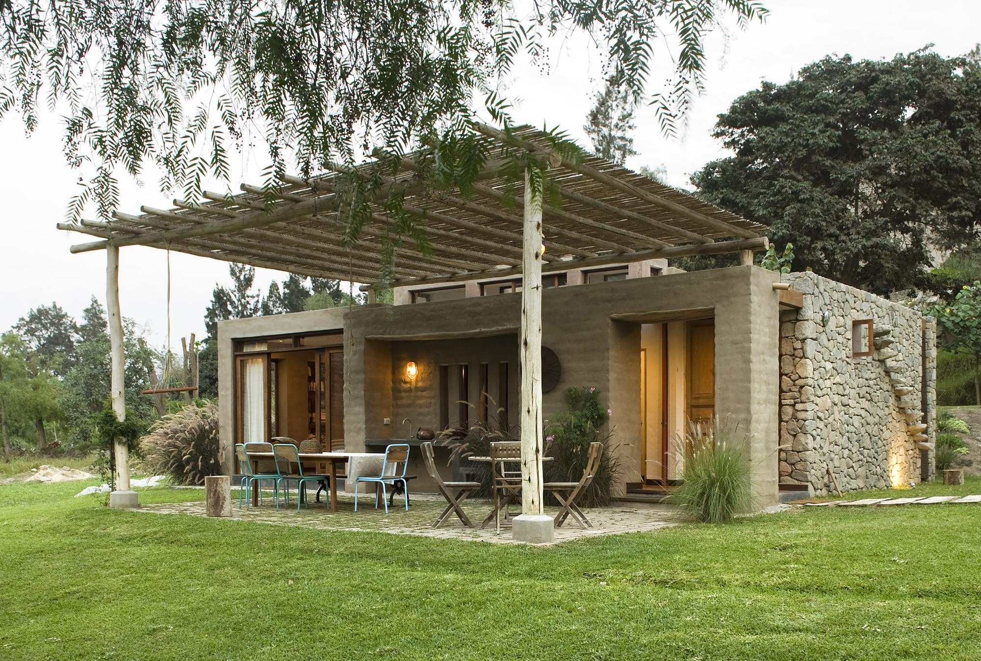 Galeria de casa chontay marina vella arquitectos 17 for Cubiertas para casas campestres