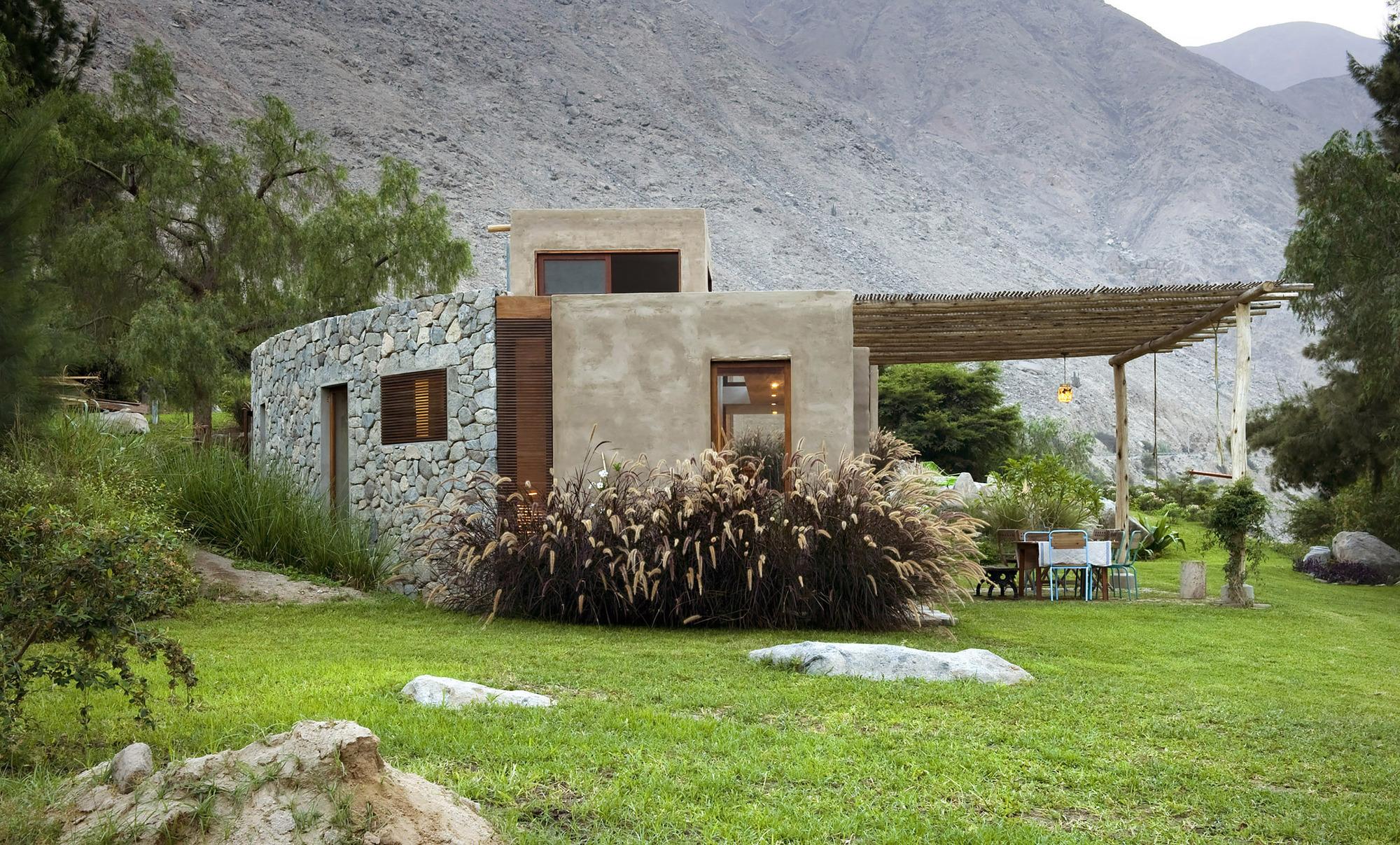 Galeria de casa chontay marina vella arquitectos 6 for Parrilla casa de campo