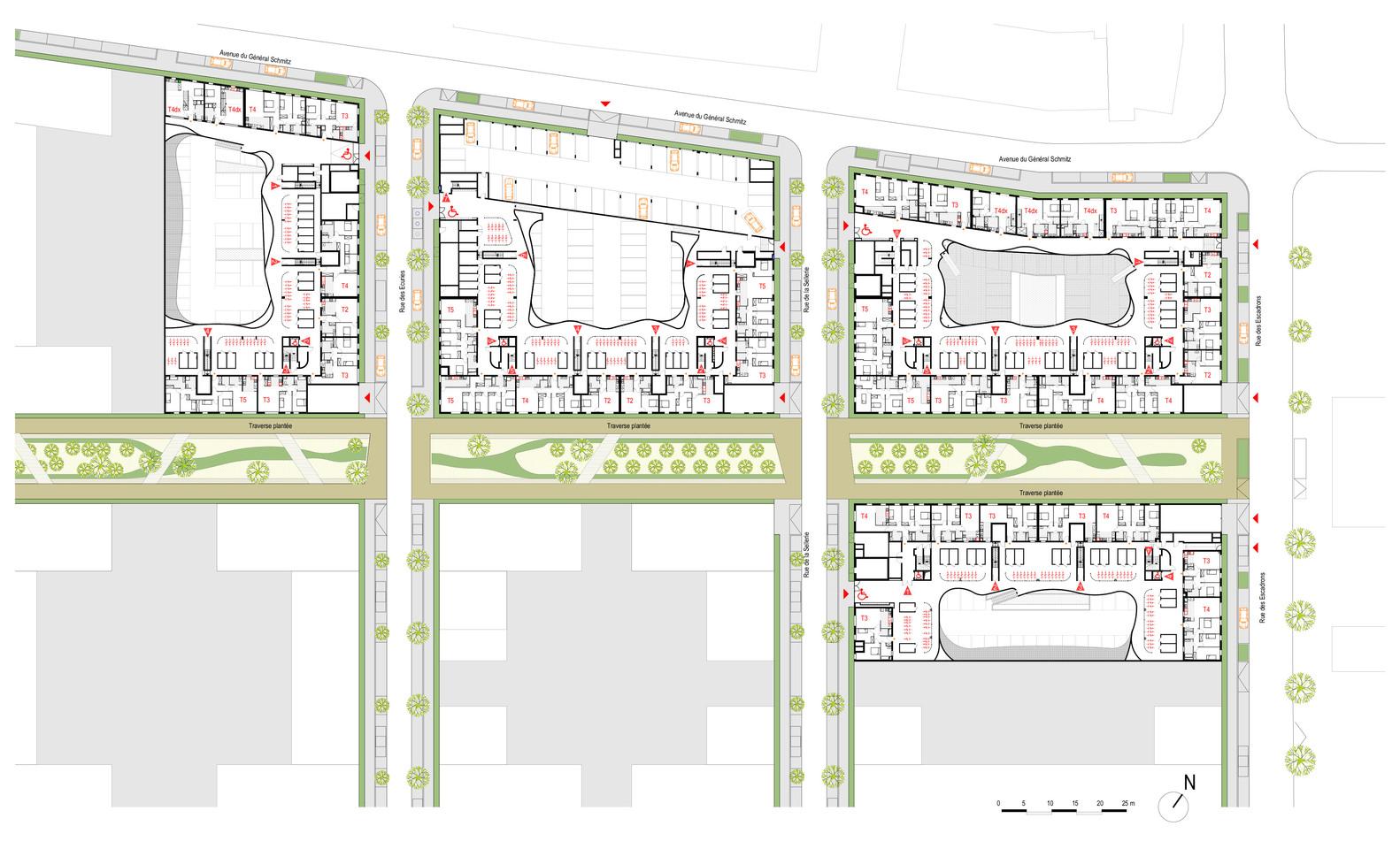 Gallery of Pontoise Housing / PLAN 01 - 16