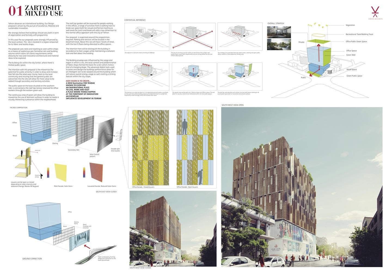 Gallery of Kamvari Architects Design Mixed-Use Development
