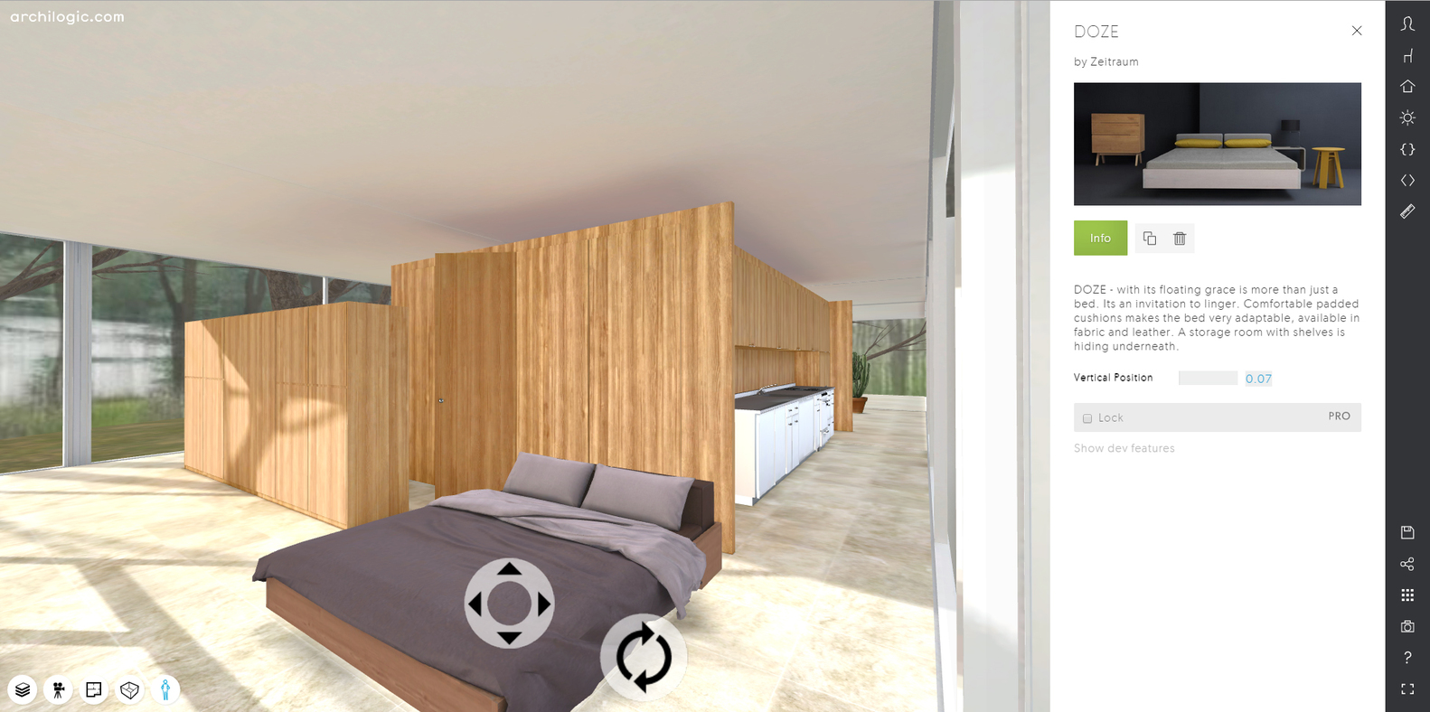 A virtual look into mies van der rohes farnsworth house