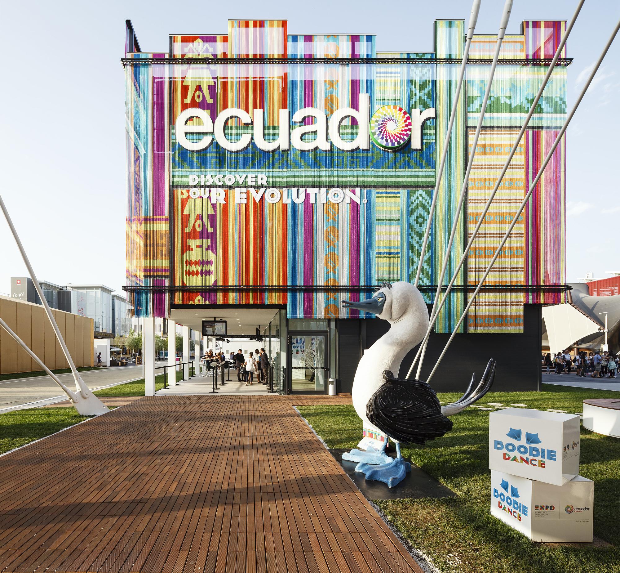 Expo Milan Stands : Ecuador pavilion milan expo zorrozua y asociados