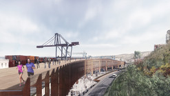 Conoce la propuesta ganadora de Mathias Klotz en el concurso público para viaducto acceso sur y muelle Prat