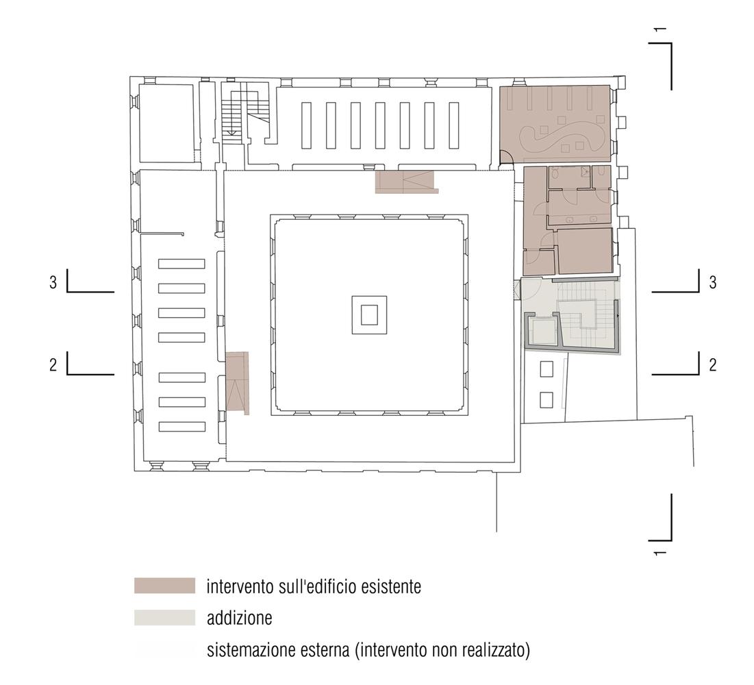 addition to s  maria convent / lr-architetti