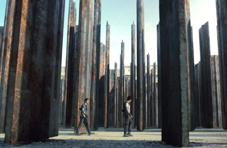 "Cine y Arquitectura: ""The Maze Runner"""