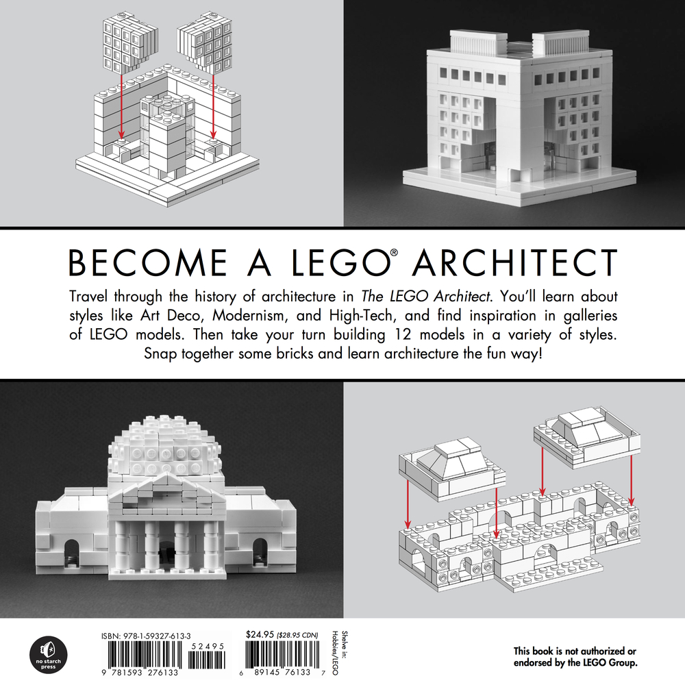 How To Become A LEGO® Architect,Courtesy Of No Starch Press