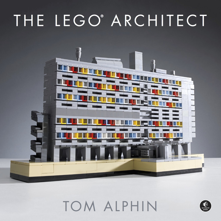 "Como se tornar um ""LEGO® Architect"", Cortesia de No Starch Press"