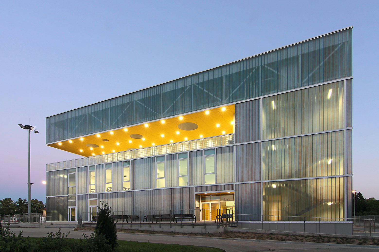 Sports Hall In Poznan Neostudio Architekci Archdaily