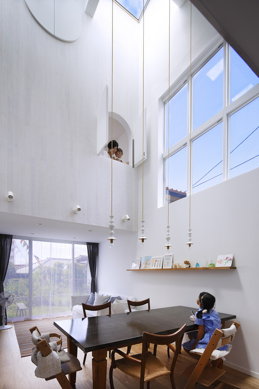 House in Tama-plaza / Takushu ARAI Architects, © Naomi Kurozumi