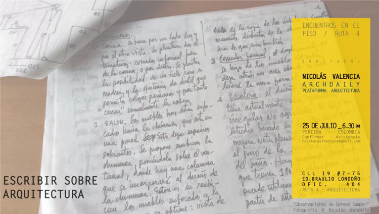 """Conversatorio """"Encuentros en el piso"""" / Pereira, Colombia"""