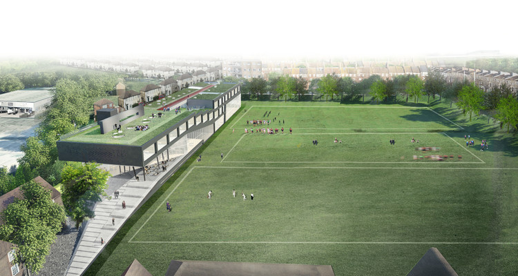 OMA Selected to Design Sport and Sciences Building for Brighton College, Courtesy of OMA
