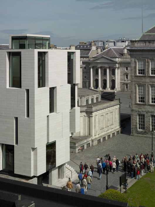 Trinity Long Room Hub / Mccullough Mulvin Architects, Courtesy of Mccullough Mulvin Architects
