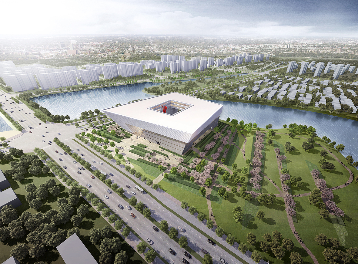 Gallery Of Gmp Selected To Design New Library In Suzhou 2