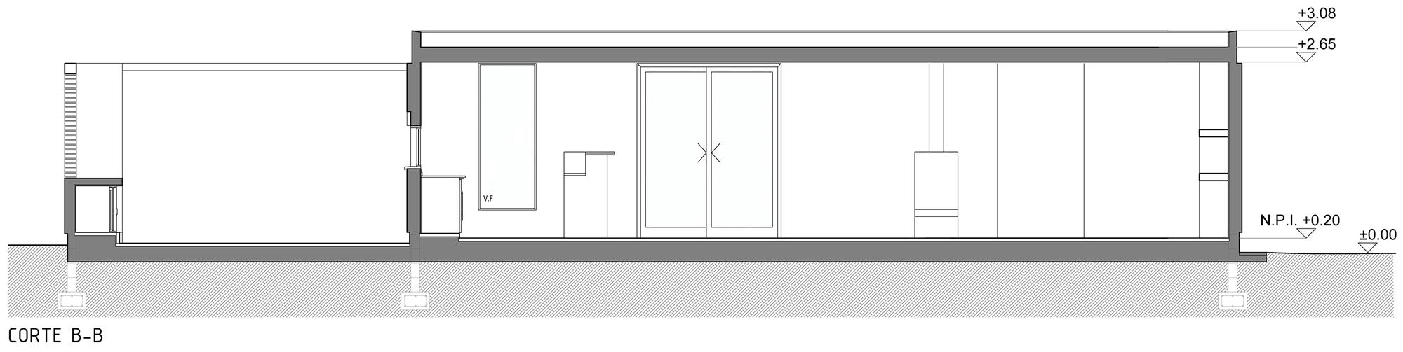 S >> Gallery of D+S House / Estudio BSB - 19