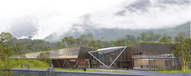 Guarello Arquitectos, segundo lugar en concurso del nuevo Centro Subantártico Cabo de Hornos, Cortesía de Guarello Arquitectos