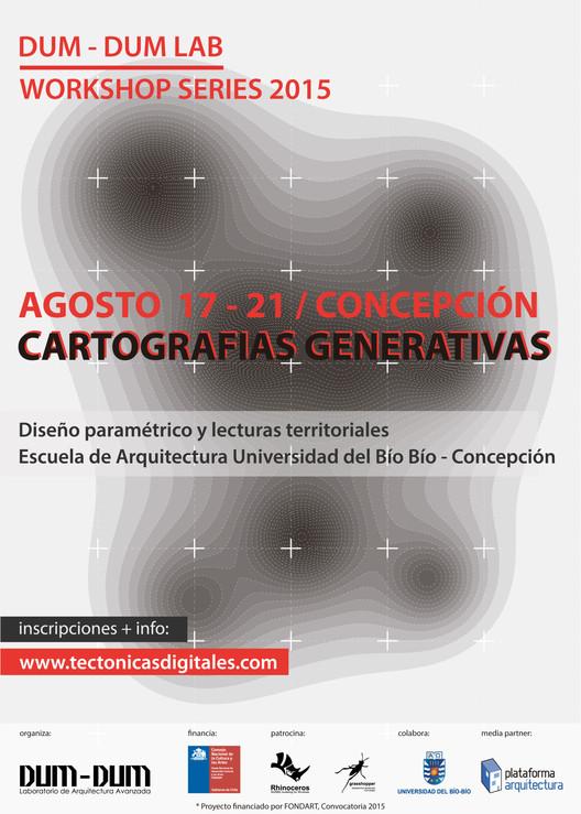 Workshop Series: 'Cartografías generativas' / Concepción [sorteo cerrado]