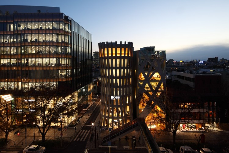 Edifício Omotesando Keyaki / Norihiko Dan and Associates, © Kozo Takayama