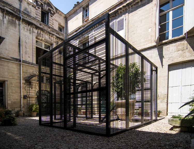 "Syracuse University Creates ""Trans(inter)ference"" Installation for Festival des Architectures Vives, Courtesy of Daniele Profeta and Maya Alam"