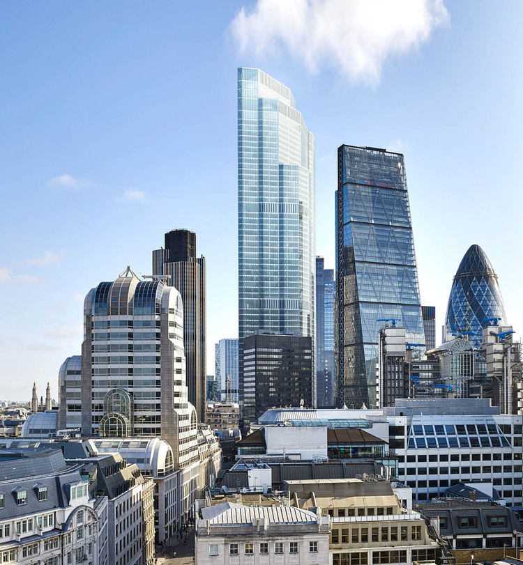 22 Bishopsgate Set to be London's Tallest Skyscraper, Courtesy of PLP Architecture