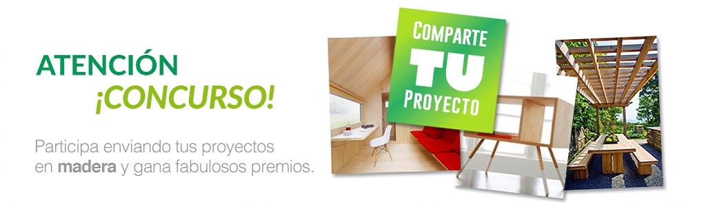 """Concurso """"Comparte TU Proyecto en Madera"""": ¡Inscripciones Abiertas!"""