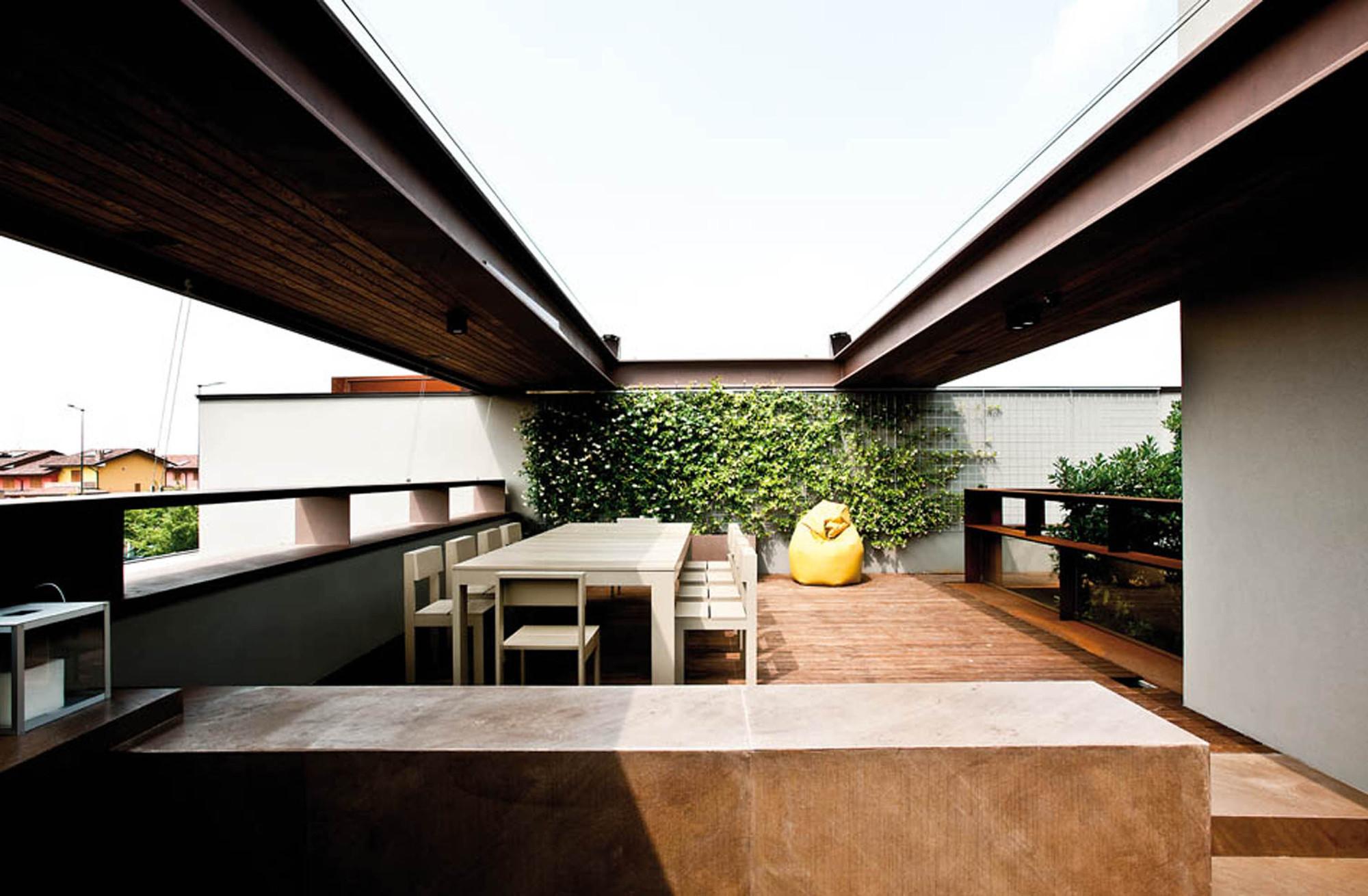 Galer a de casa b unostudio architetti associati 11 for Log casa architetti