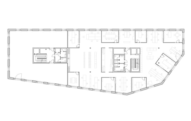 Polyad s st helin architekten archdaily for B architecture delemont
