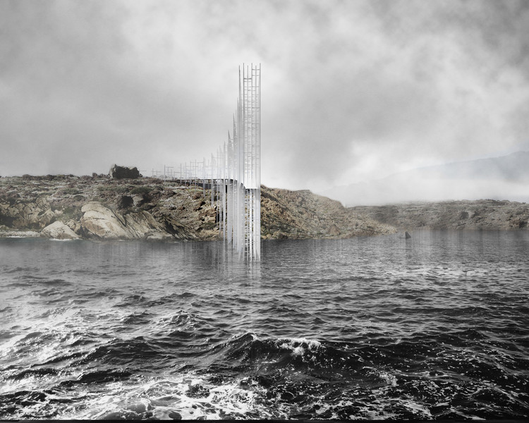 Winners of Concordia Lighthouse Competition Announced, Concordia Lightscape. Image Courtesy of Gwizdala Andrzej and Adrien Mans