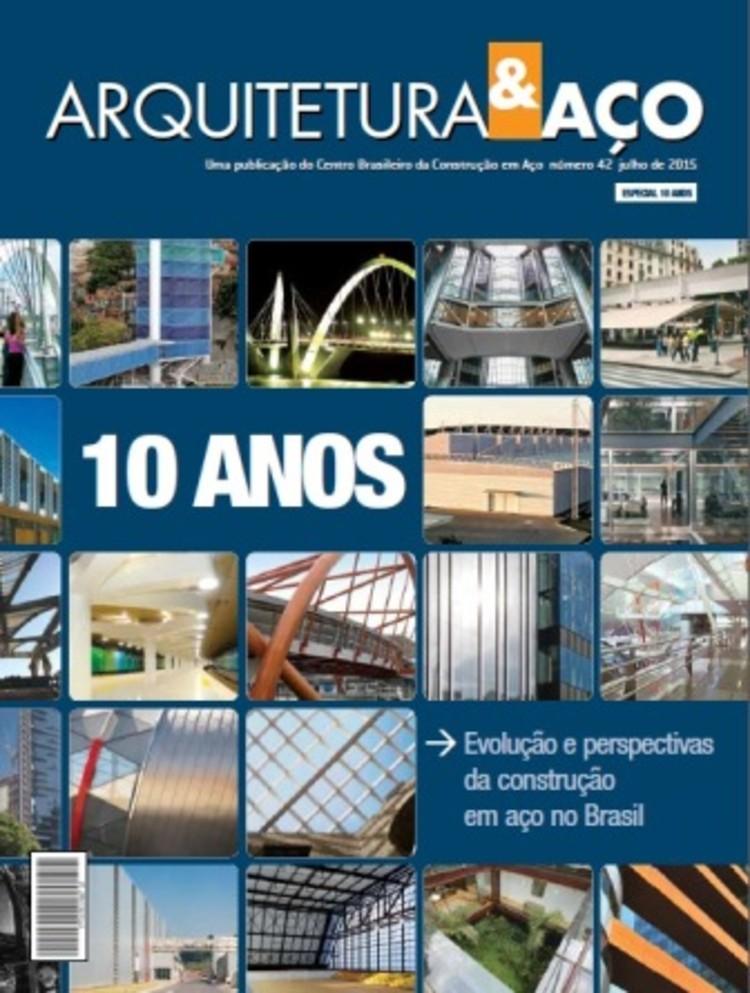 O CBCA disponibiliza gratuitamente material de apoio para projetar em aço , © Revista Arquitetura&Aço