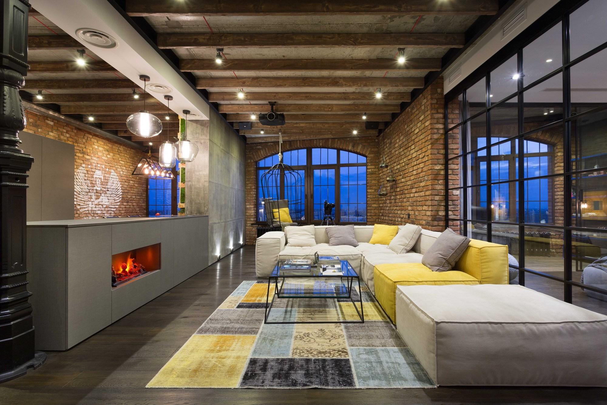 Gallery of loft in kyiv martinarchitects 23 - Loft industriel martin architectes kiev ...