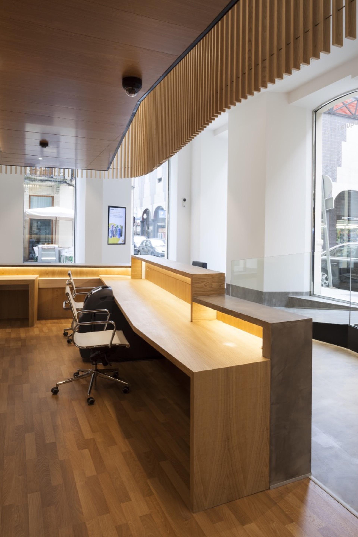 Galer a de oficina bancaria rubio bilbao arquitectos 4 for Oficina de extranjeria bilbao