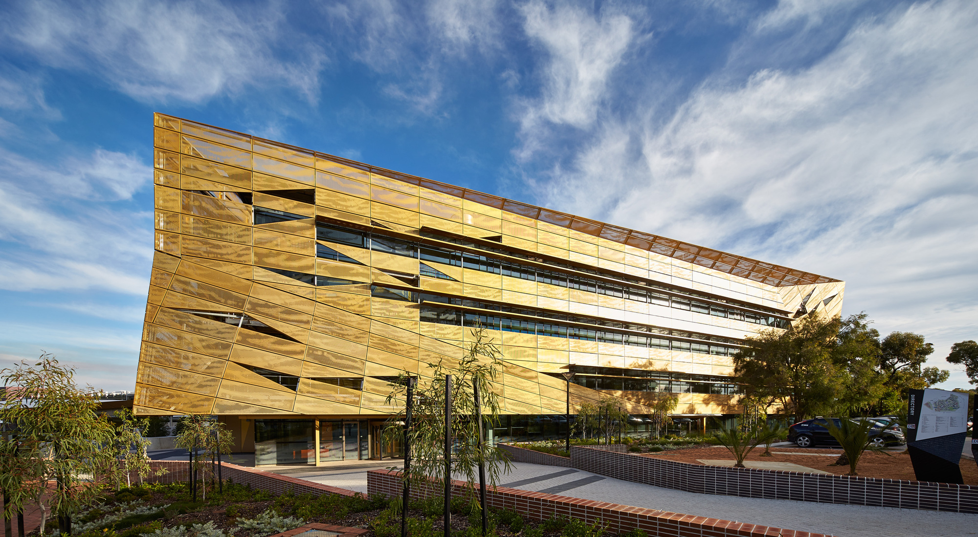 Gallery of ngoolark student services building jcy for Designers and architects