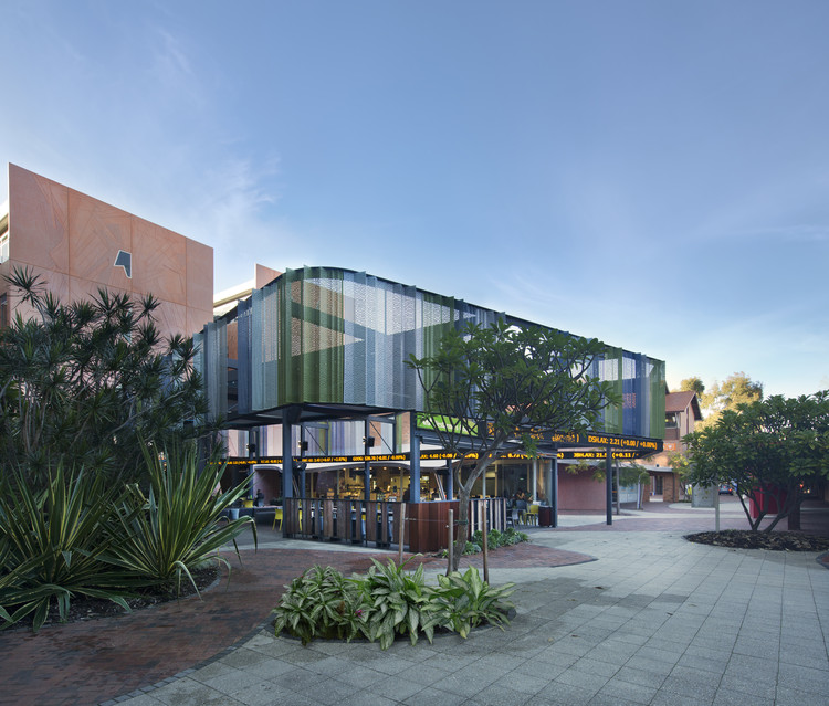 Pátio Westfarmers na Universidade Curtin / JCY Architects and Urban Designers, © Rob Ramsay