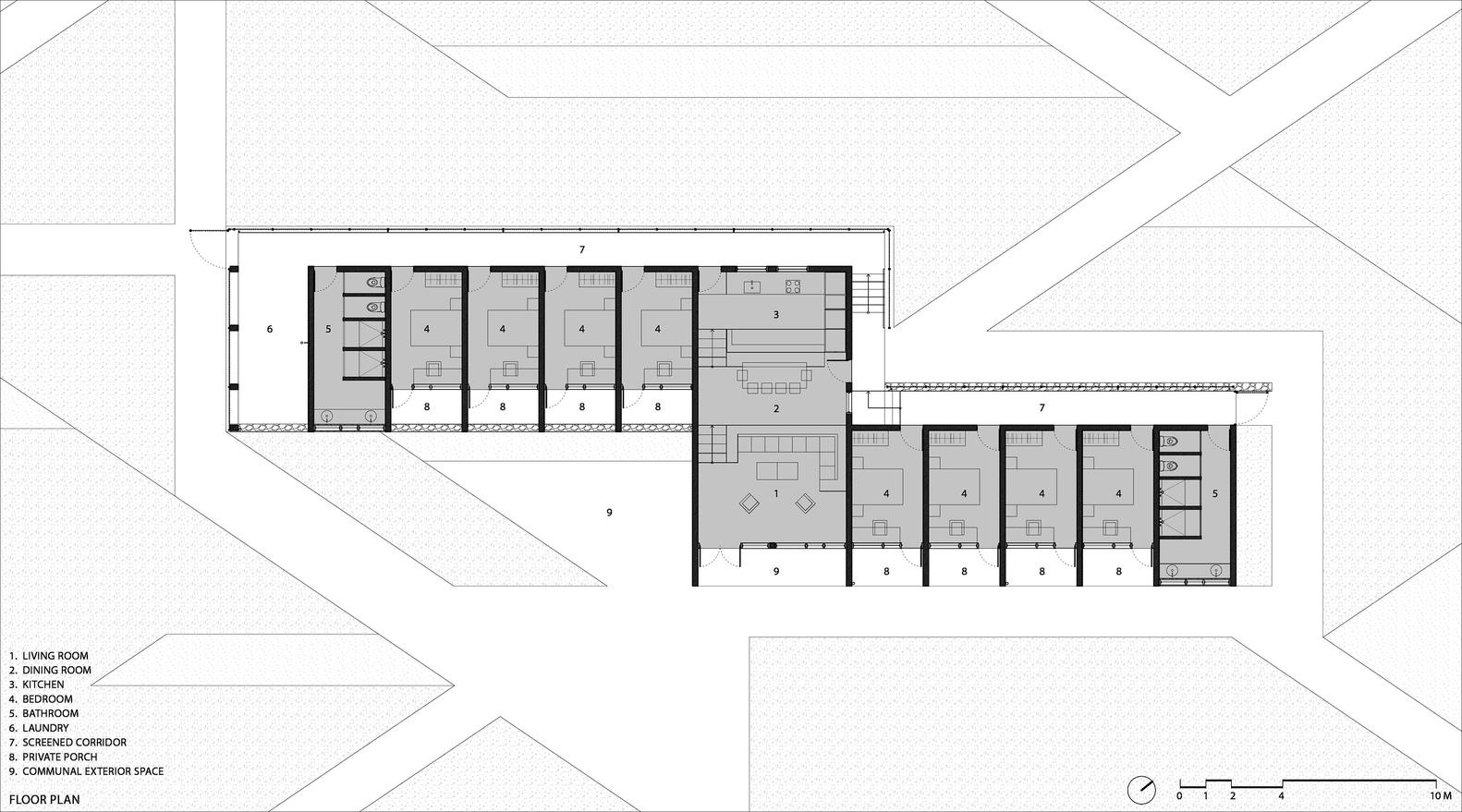 Gallery Of Partners In Health Dormitory Sharon Davis Design 22