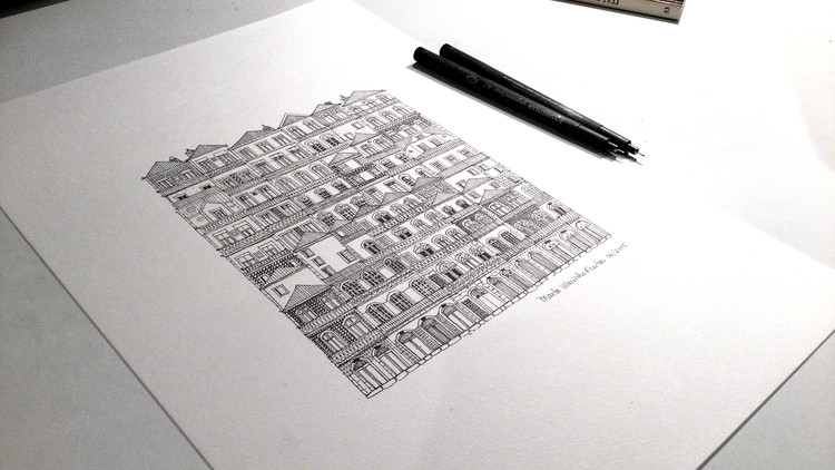 """""""Las ciudades y la Memoria – la Arquitectura y la Ciudad"""" por Marta Vilarinho de Freitas, © Marta Vilarinho de Freitas"""