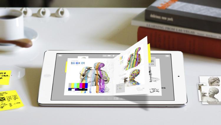 """Aplicativo """"Journal"""": um possível futuro para o desenho analógico, Trabalho de Javier Galindo. Imagem Cortesia de Morpholio"""