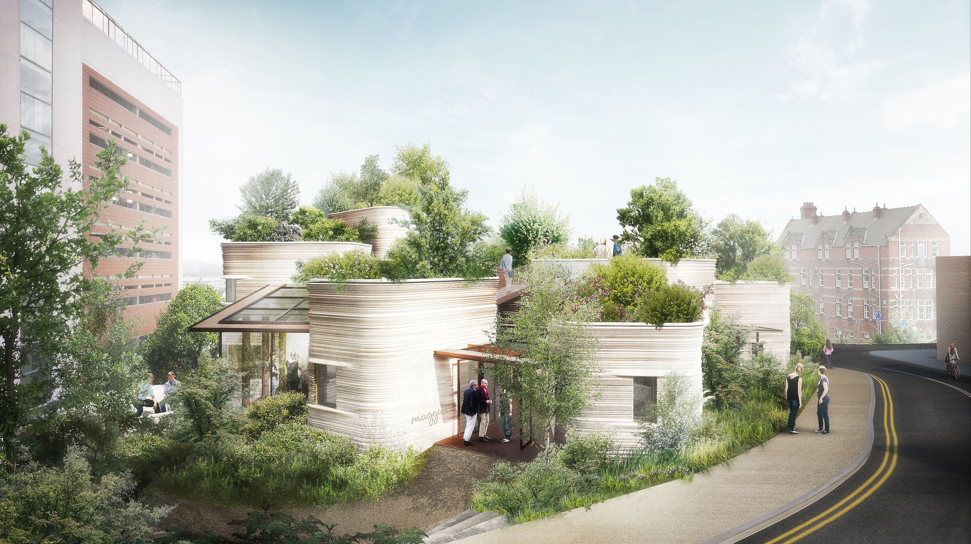 Heatherwick Wins Planning For New Maggie S Centre In Leeds