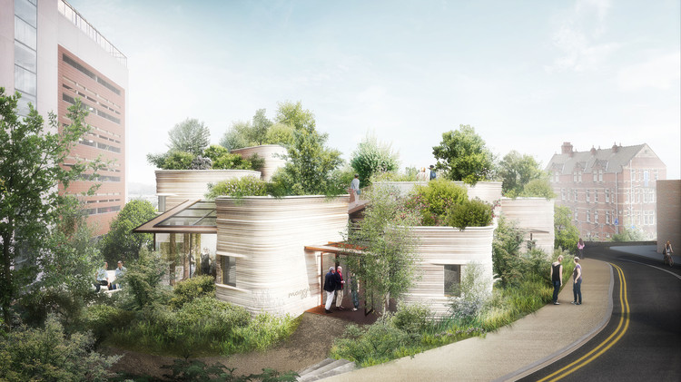 Heatherwick Wins Planning for New Maggie's Centre in Leeds, © Heatherwick Studio