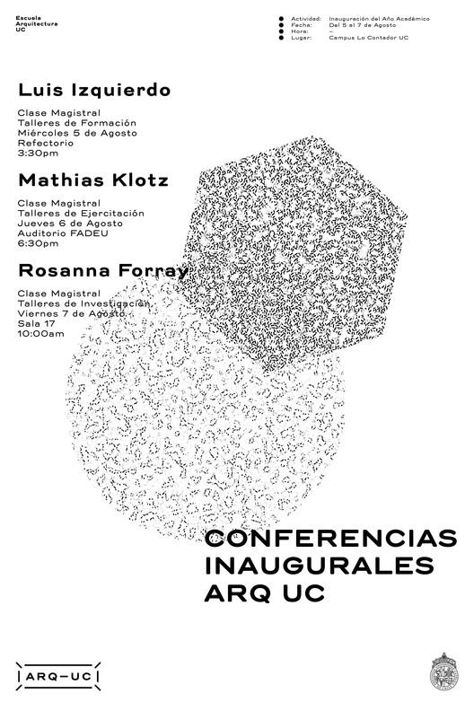 Inauguración Semestre Académico PUC / Santiago, Chile, Trinidad Sánchez